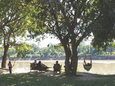 Marula Lodge river side